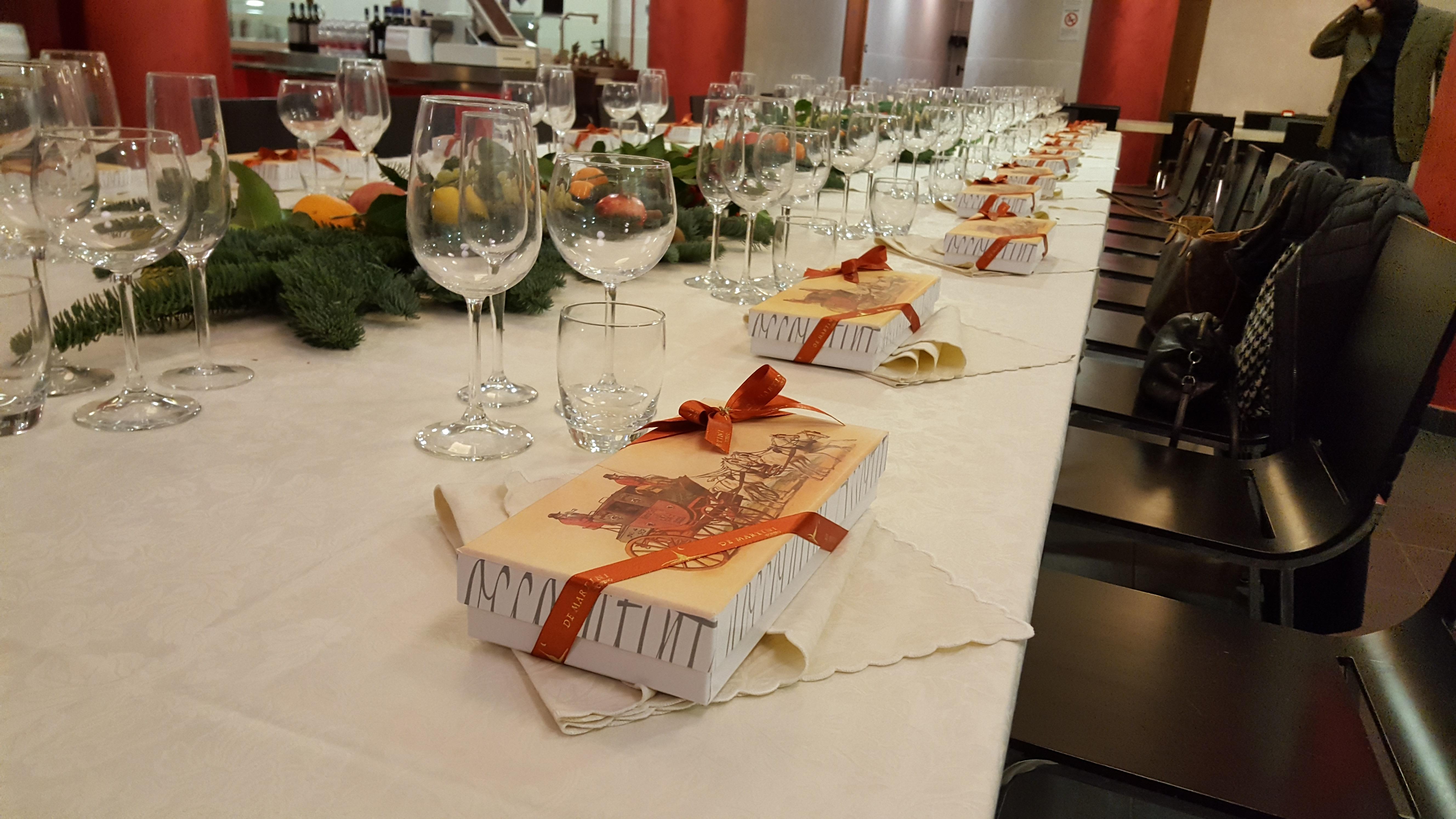tavolo galleria natale Sotral