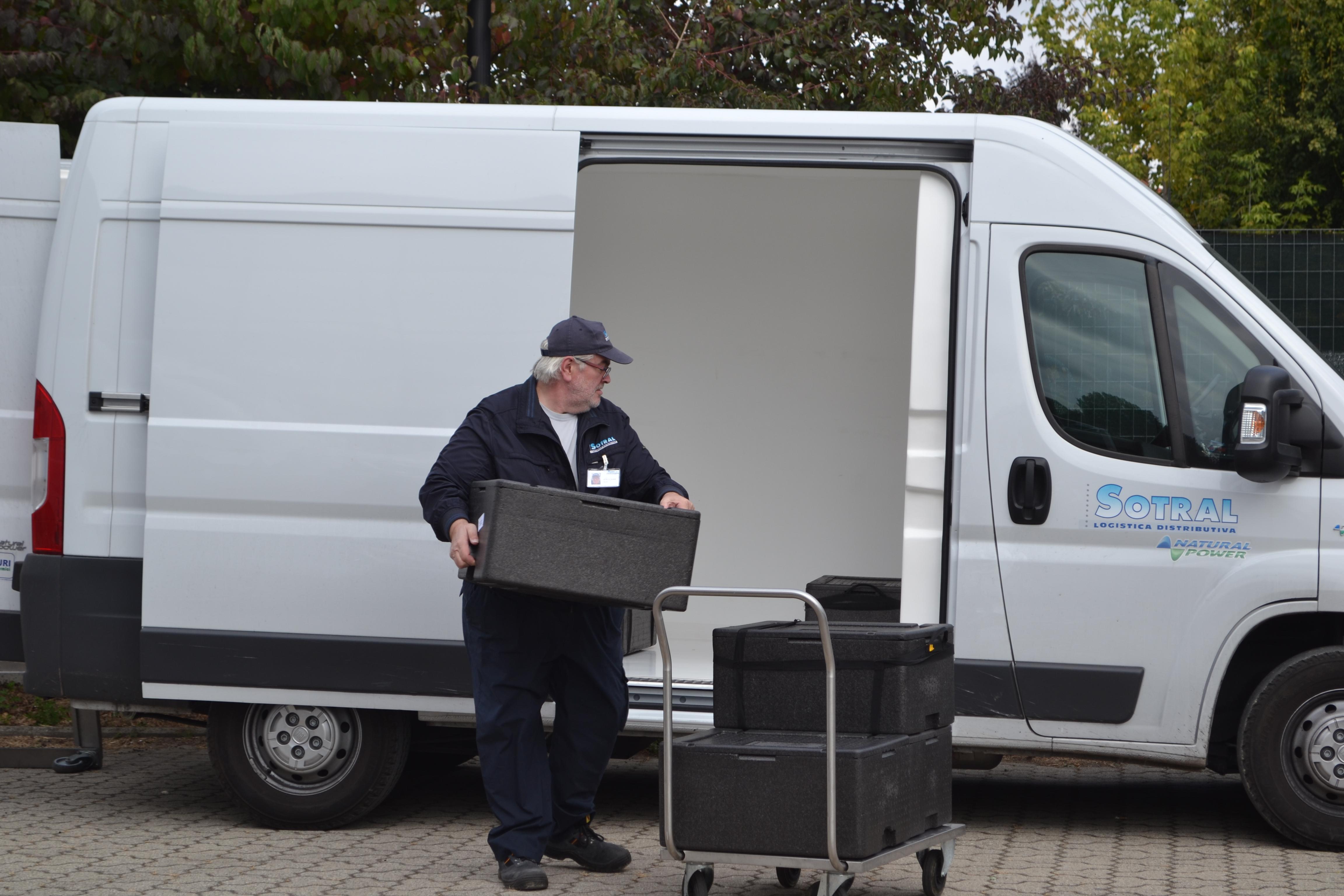 Sotral trasporto pasti servizio clienti